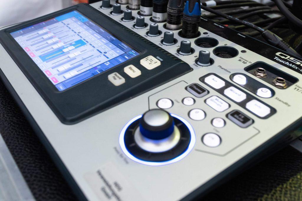 Tonanlage von HDG Veranstaltungstechnik